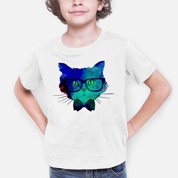 Picture of Colorful cat Boy T-Shirt