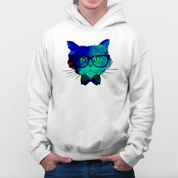 Picture of Colorful cat Hoodie