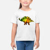 Picture of Colorful Dinosaur Girl T-Shirt