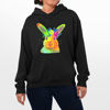 Picture of Colorful rabbit Female Hoodie