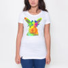 Picture of Colorful rabbit Female t-shirt