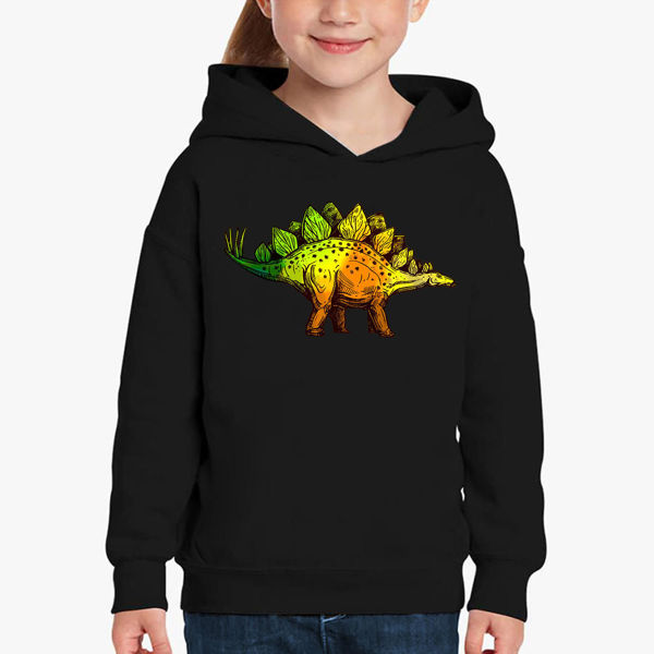 Picture of Colorful Dinosaur Girl Hoodie