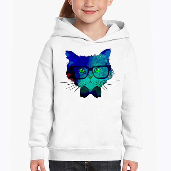 Picture of Colorful cat Girl Hoodie