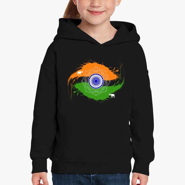 Picture of India Girl Hoodie