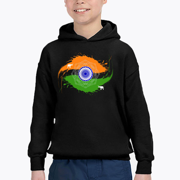 Picture of India Boy Hoodie