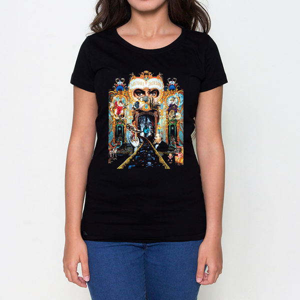 Picture of Michael Jackson Female T-Shirt