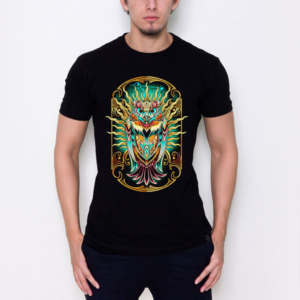Picture of Owl colored T-Shirt