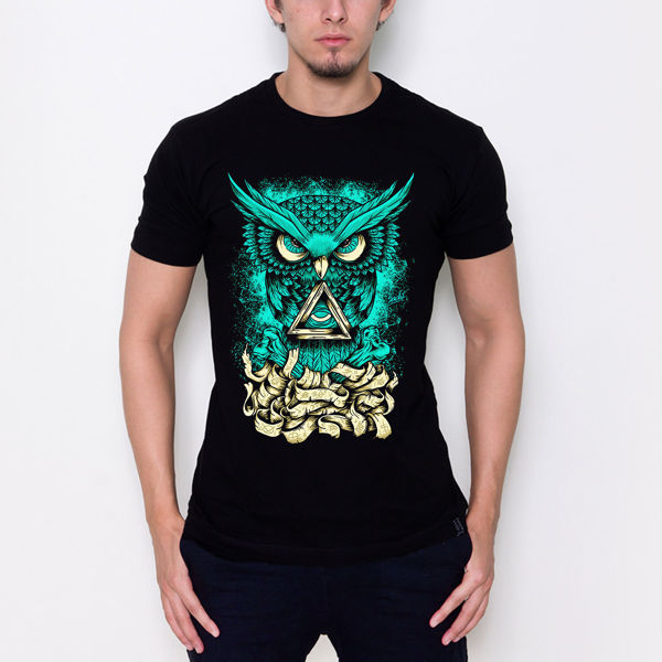 Picture of Green Owl T-Shirt