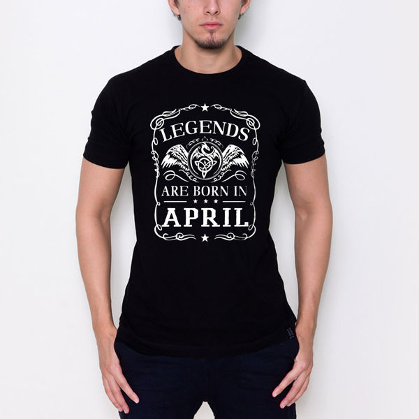 Picture of Born in April T-Shirt