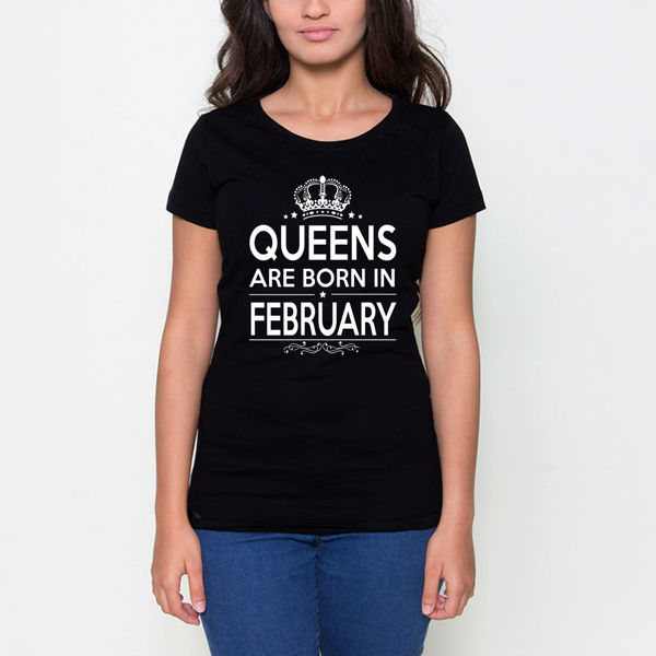 Picture of Born in February Female T-Shirt