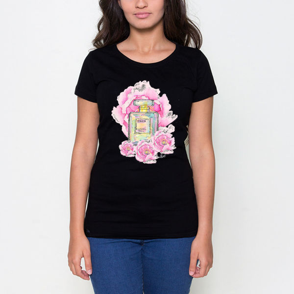 Picture of coco Chanel Female T-Shirt