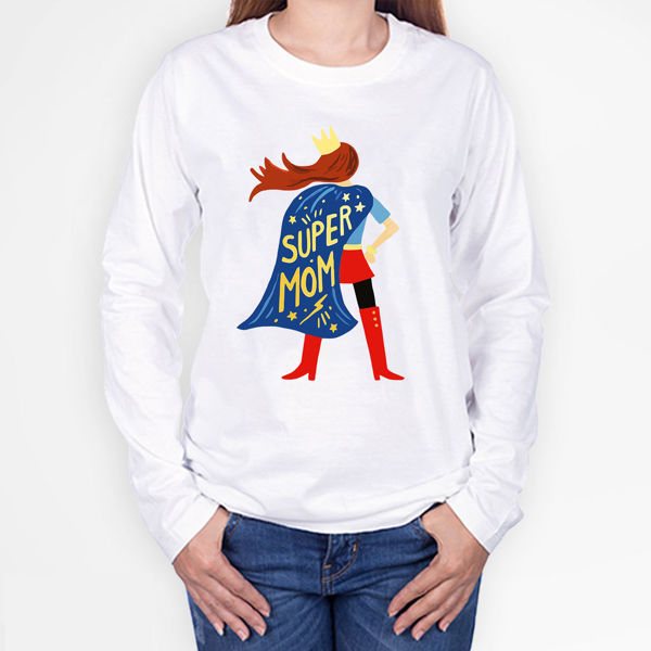 Picture of super mama T-Shirt
