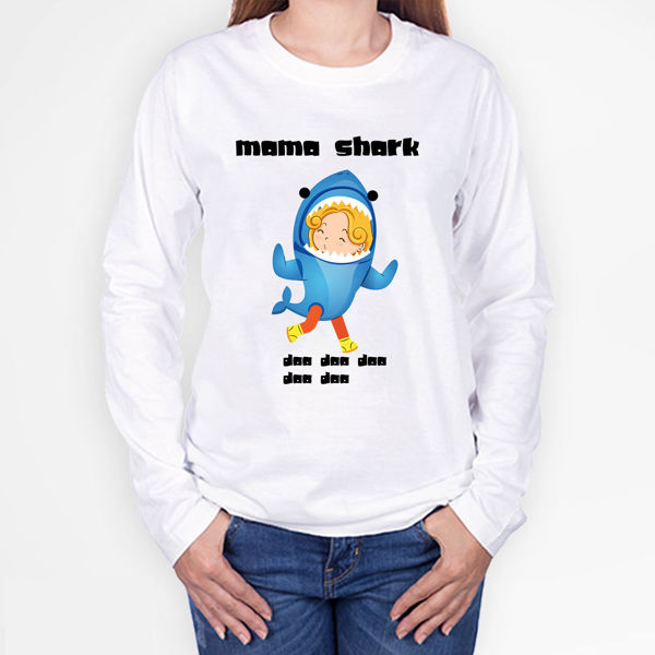 Picture of mama shark Female T-Shirt