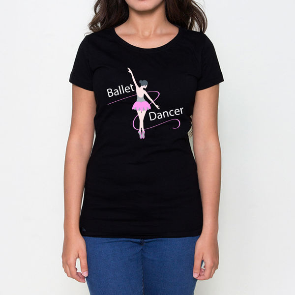 Picture of Ballet Dancer Female T-Shirt