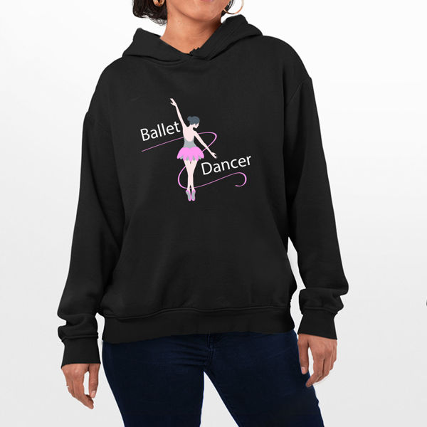 Picture of Ballet Dancer Female Hoodie