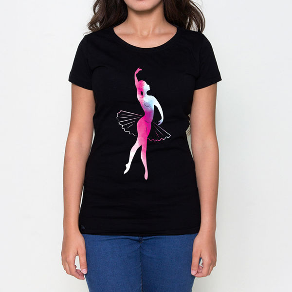 Picture of Pink Ballerina Female T-Shirt