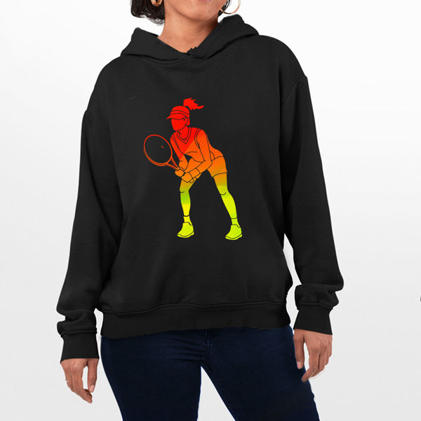 Picture of Tennis Female Hoodie