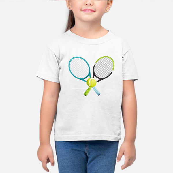 Picture of tennis ball Girl T-Shirt