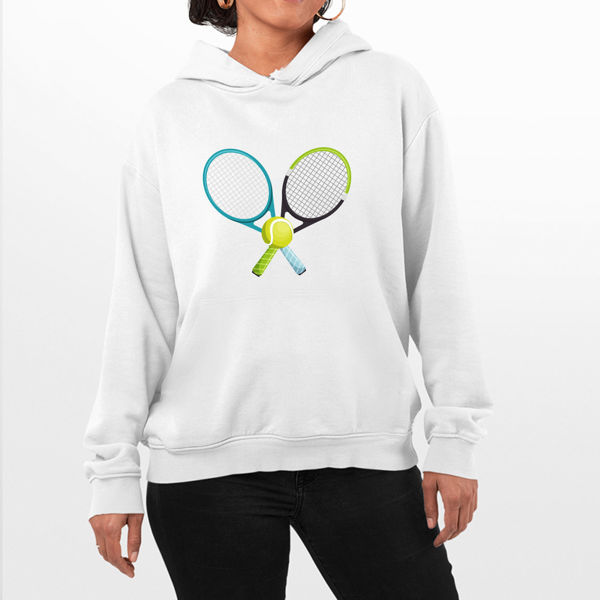 Picture of Tennis Ball Female Hoodie