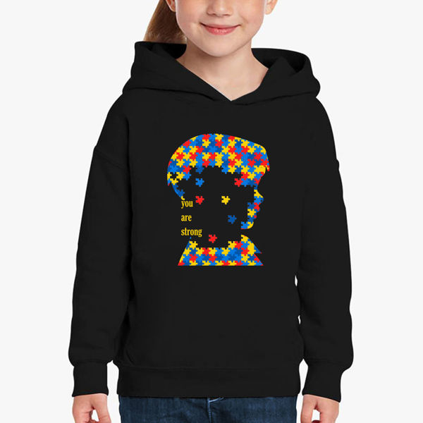 Picture of You Are Strong Girl Hoodie