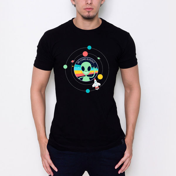 Picture of We come in peace T-Shirt