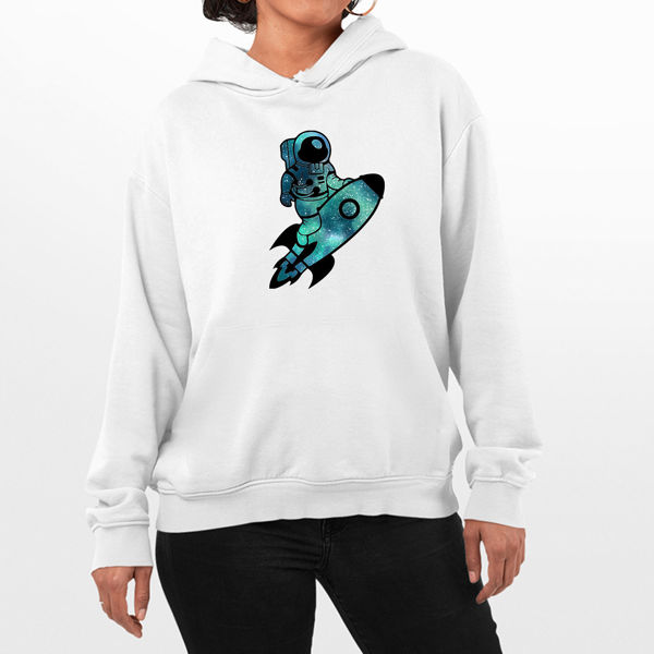 Picture of Astronaut Female Hoodie