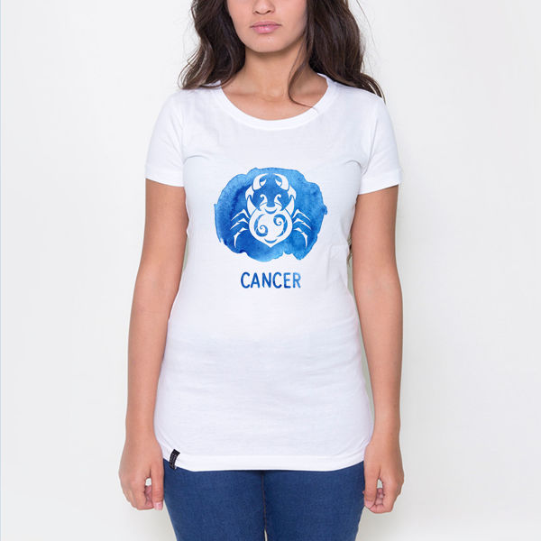 Picture of Colorful Cancer female T-Shirt