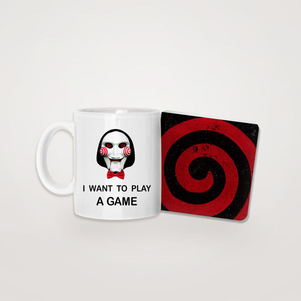 Picture of I want to play Mug & Coaster