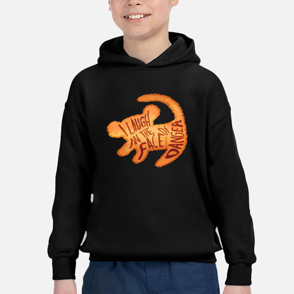 Picture of lion king Boy Hoodie