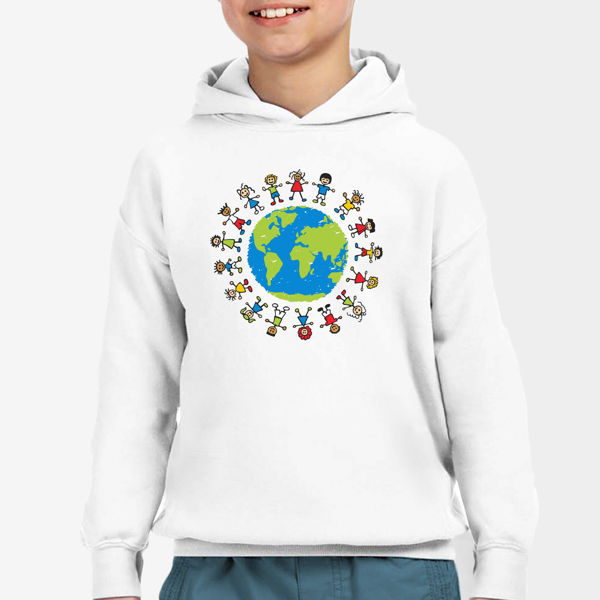 Picture of World Children's Day   Boy Hoodie