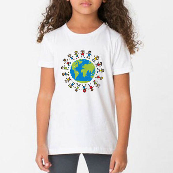 Picture of World Children's Day   Girl T-Shirt
