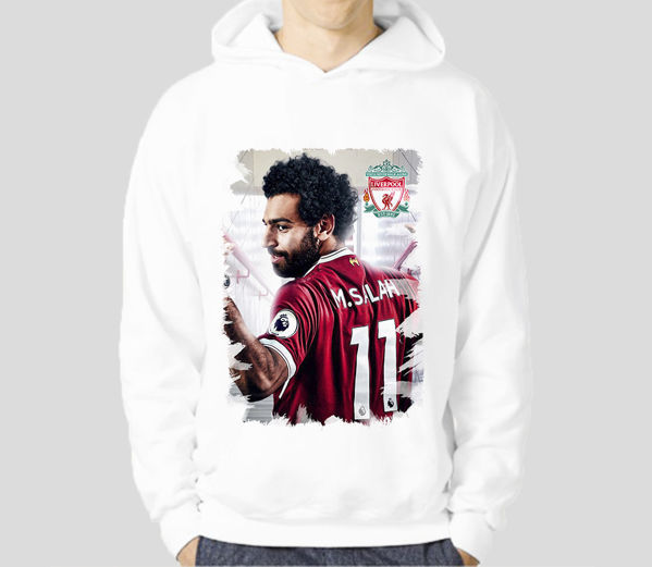 Picture of mo salah 2  male Hoodie