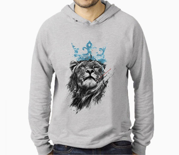 Picture of loin king male Hoodie