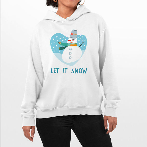 Picture of Let it snow  Female Hoodie