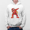 Picture of santa claus dance male Hoodie