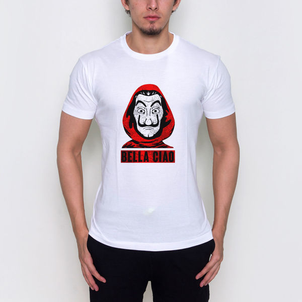 Picture of la casa de papel mask male T-shirt
