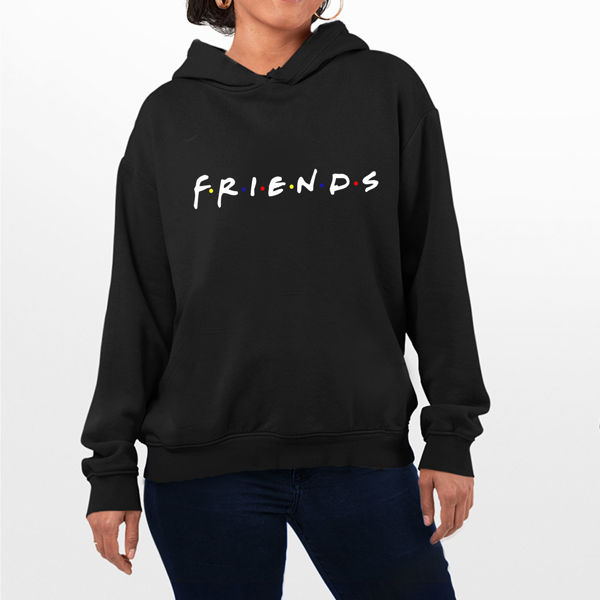 Picture of friends female Hoodie