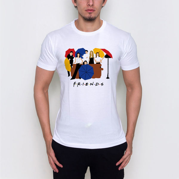 Picture of friends logo male T-Shirt