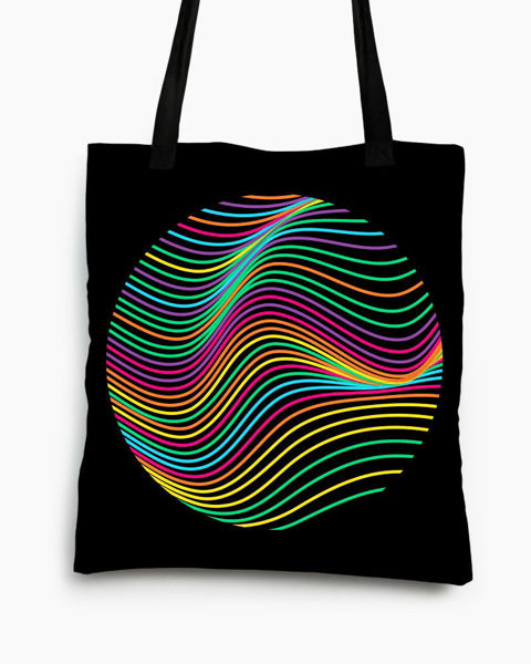 Artistic circle Tote bag