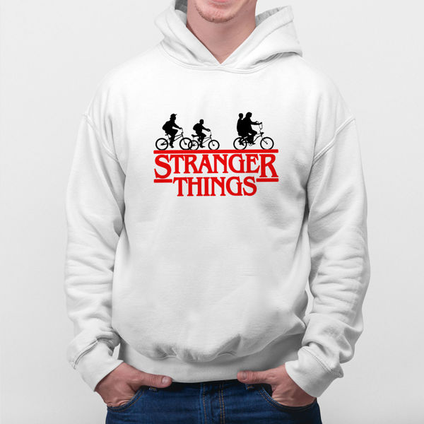 Picture of stranger things logo  male Hoodie